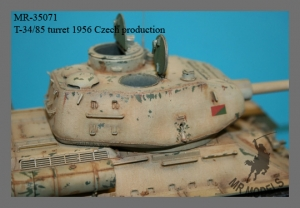 MR - 35071 T-34/85 turret Model 1956 CSSR-production