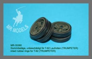MR 35380 Gummibeläge, unbeschädigt für T-62 Laufrollen (TRUMPETER)