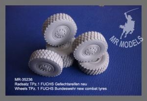 MR - 35236 TPZ 1 FUCHS Rädersatz Gefechtsreifen neue Ausführung