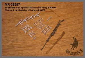 MR - 35297 Chains & turnbuckles US Army / NATO
