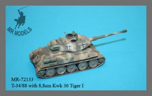 MR-70133 T-34/88 with 8,8cm Kwk 36 Tiger I