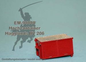 EM-90008 Hochcontainer für Hägglunds BV 206