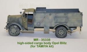 MR-35338  Hochbordpritsche mit Radkästen für Opel Blitz (Tamiya)
