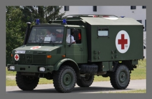 MR - 35051 Unimog U1300L Ambulance German Bundeswehr