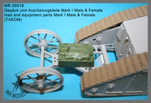 MR-35518 load and equipment parts Mark I Male & Female        (TAKOM)