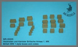 MR-35520  Holzkisten und Kanister Britische Armee 1. WK