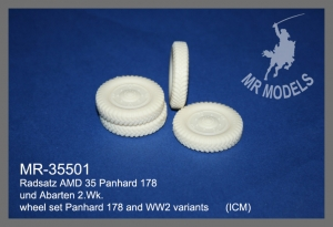 MR-35498  upgrade and gun barrel AMD 35 Panhard 178  French Army    (ICM)
