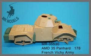 MR-35530 AMD 35 Panhard   178 Vichy-französische Armee
