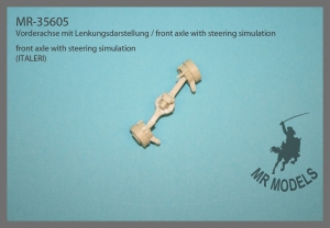 MR-35605  front axle with steering simulation                (ITALERI)