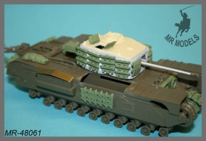 MR-48061 Upgrade and stowage Churchill Mk.VII Crocodile scale 1/48    (TAMIYA)