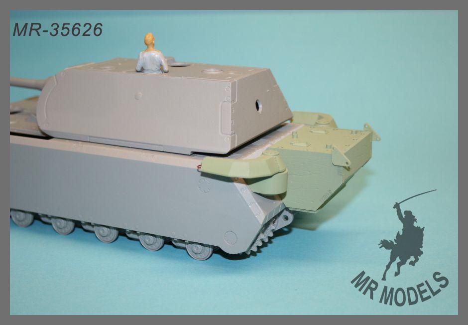 Gepanzerter Zusatztank Pz.Kpf.Wg MR-35626 MAUS