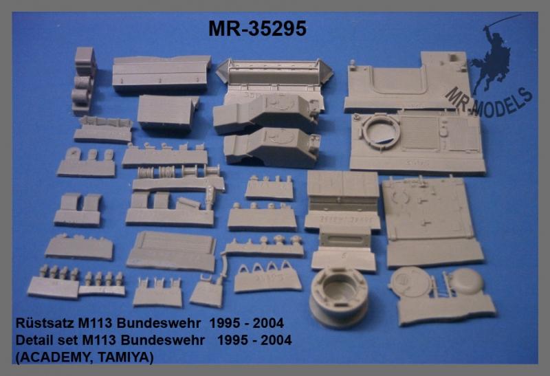 MR-35295 M113 Detail set Bundeswehr 1995 - 2004