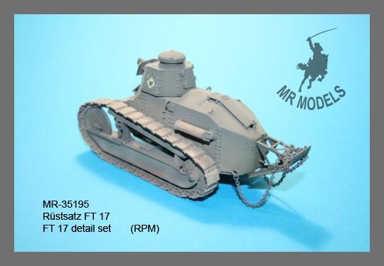 MR - 35195 FT 17 Rüstsatz (für RPM FT 17)