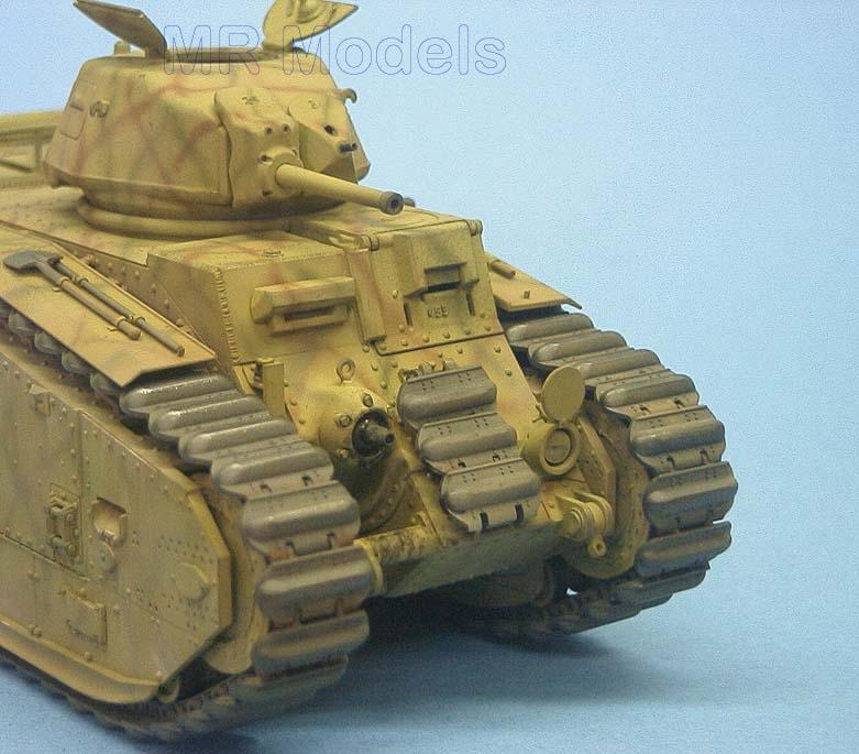 MR - 35322 Char B1 bis Deutsche Wehrmacht Rüstsatz für TAMIYA