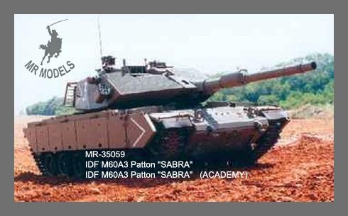 MR - 35059 Israelischer M60A3 Patton SABRA