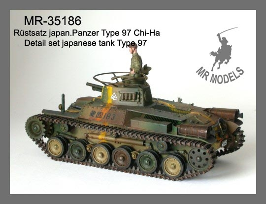 MR - 35186 Detailing set Japanese tank Type 97 Chi-Ha
