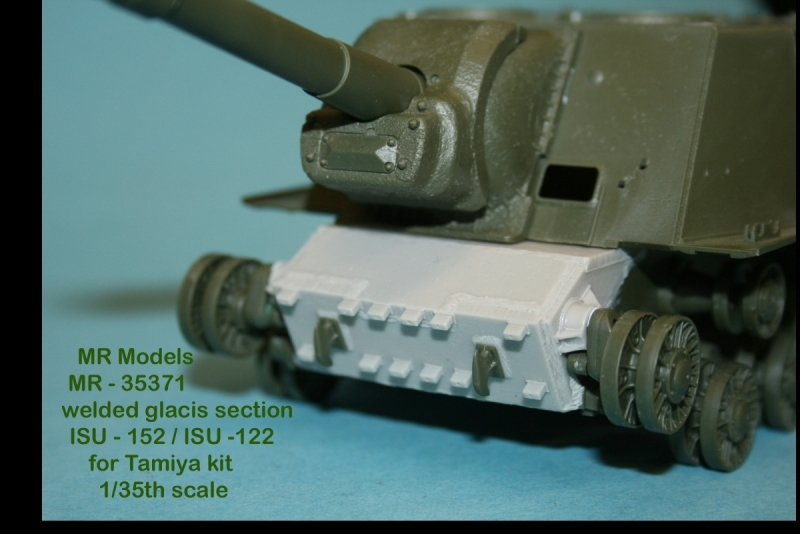 MR - 35371 Geschweißtes  Bugteil ISU-152 & ISU-122   (TAMIYA)
