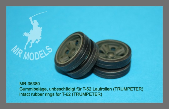 MR 35380  intact rubber rings for T-62      (TRUMPETER)