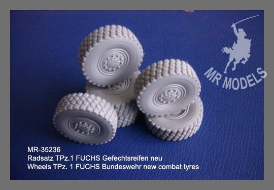 MR - 35236 Wheelset TPz.1 FUCHS combat tyres new type