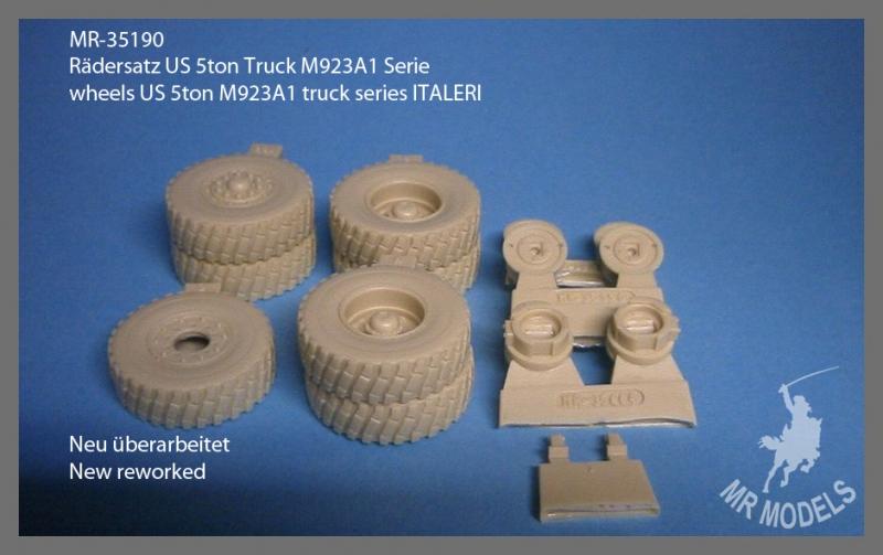 MR-35190  Rädersatz US 5ton Truck M923A1 Serie
