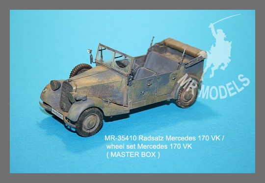 MR-35410 Radsatz Mercedes 170 VK