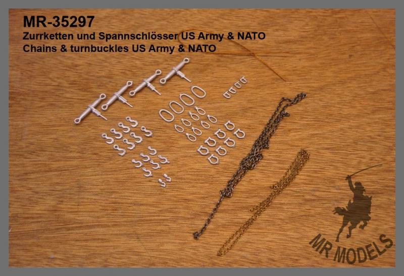 MR - 35297 Zurrketten und Spannschlösser US Army / NATO