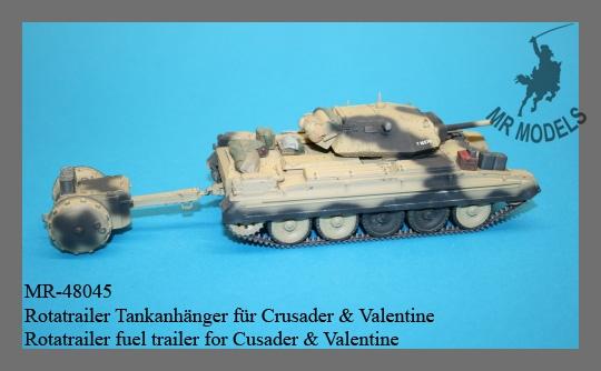 MR-48045 Rotatrailer Tankanhänger für Crusader & Valentine