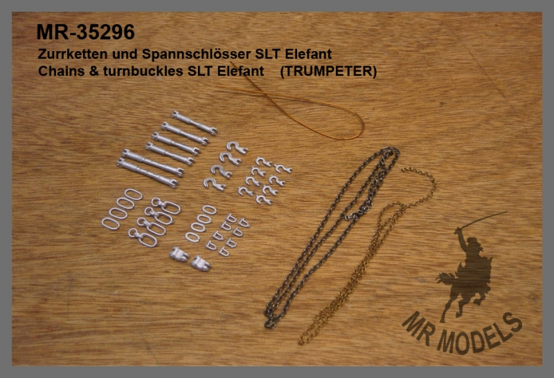 MR - 35296 Zurrketten und Spannschlösser SLT Elefant