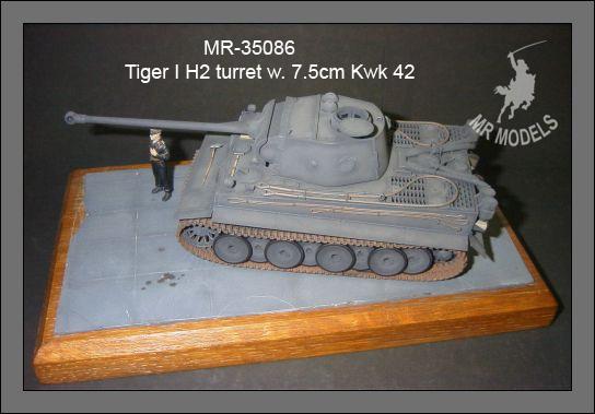 MR-35086  Tiger I H2 Turm m. 7,5cm Kwk 42 L/70