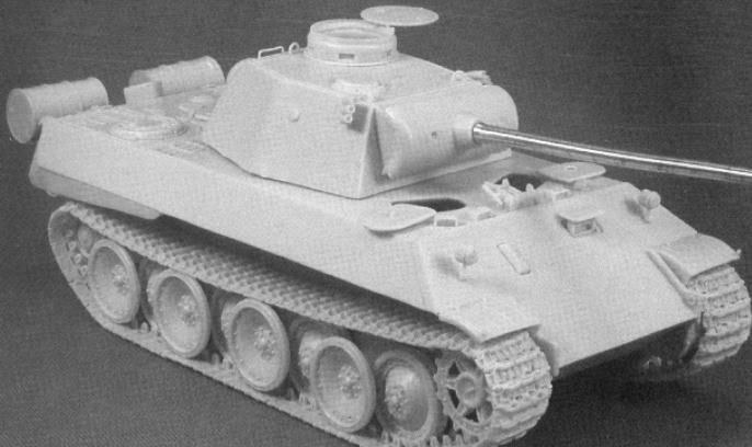 MR-72012 Panther Prototype Turm VK 3002(M)
