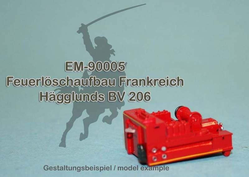 EM-90005 Französischer Feuerlöschaufbau für Hägglunds BV 206