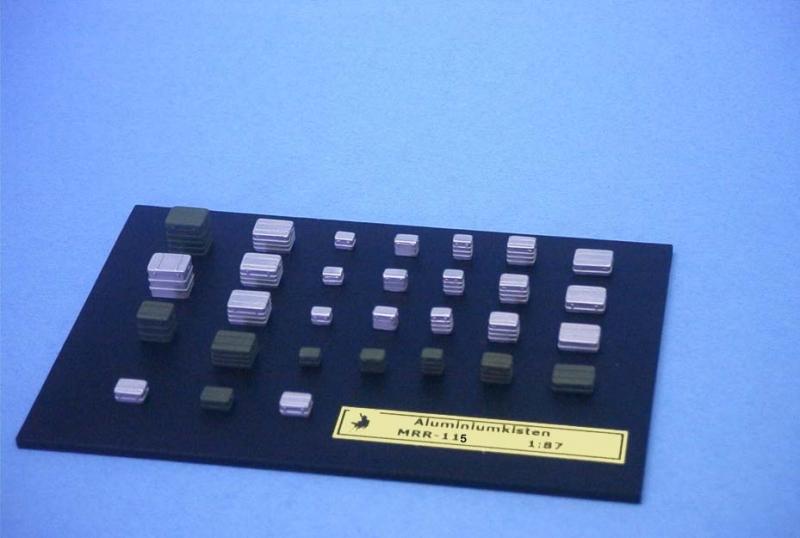 EM-90007  Aluminiumkoffer und Metallkisten