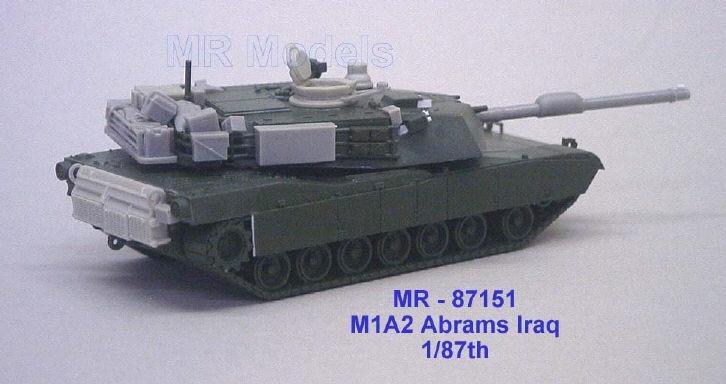 MR-87151 M1A2 Abrams Rüstsatz Irak (Set I)
