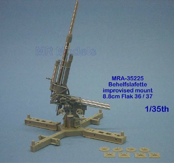 MR-35325 Behelfslafette für 8,8cm Flak 37 Umbausatz