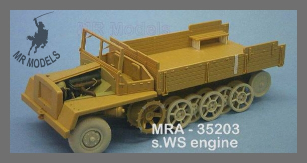 MR-35303  Rüstsatz sWS ungepanzert (für ITALERI)