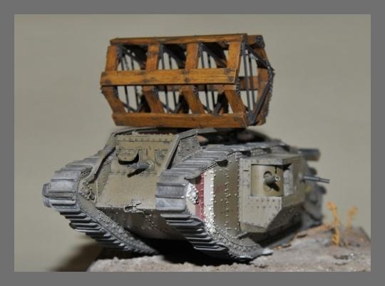 Mr 35435 Crib Fascine Mark Iv Tank Takom Mr Modellbau