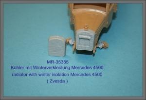 MR-35385 Kühler mit Winterverkleidung Mercedes 4500