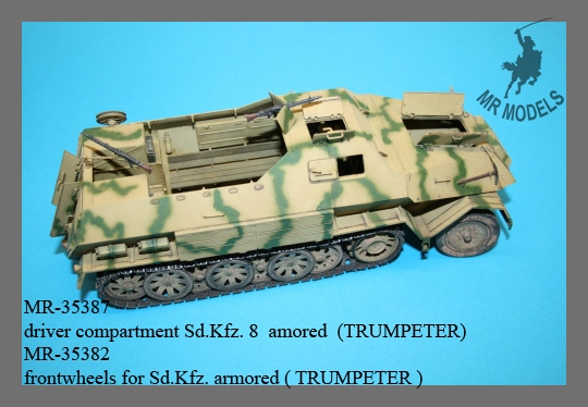 MR-35387 Fahrerraum Update für Sd.Kfz. 8 (TRUMPETER)