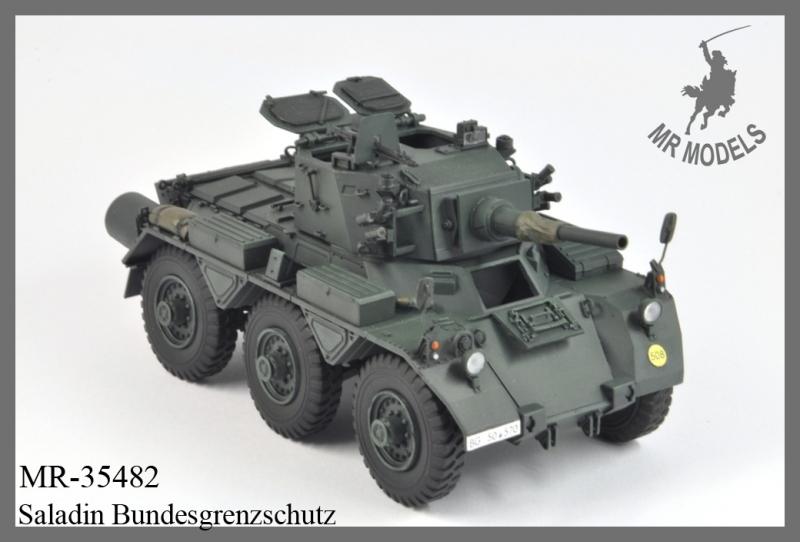 MR-35482 upgrade & gun barrel FV 601(D) Saladin German