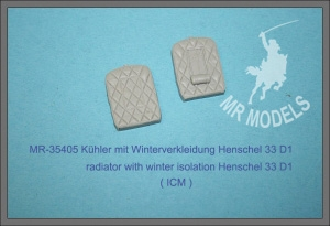 MR-35405 Kühler mit Winterverkleidung Henschel 33 D1