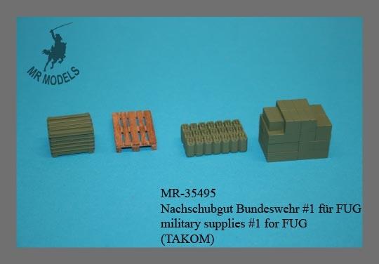 MR-35495  Nachschubgut Bundeswehr #1 für FUG  (TAKOM)