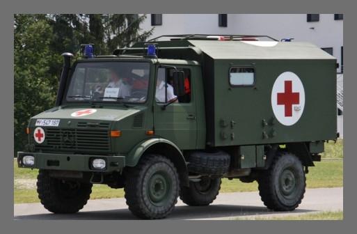 MR - 35051  Unimog U1300L Ambulance  Bundeswehr