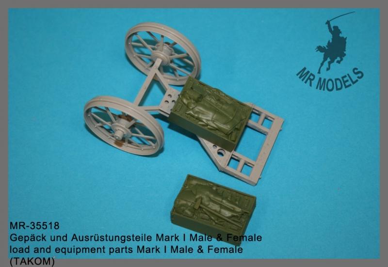 MR-35518 Gepäck und Ausrüstungsteile Mark I Male & Female     (TAKOM)