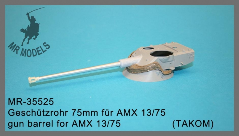 MR-35525  gun barrel for AMX 13/75      (TAKOM)