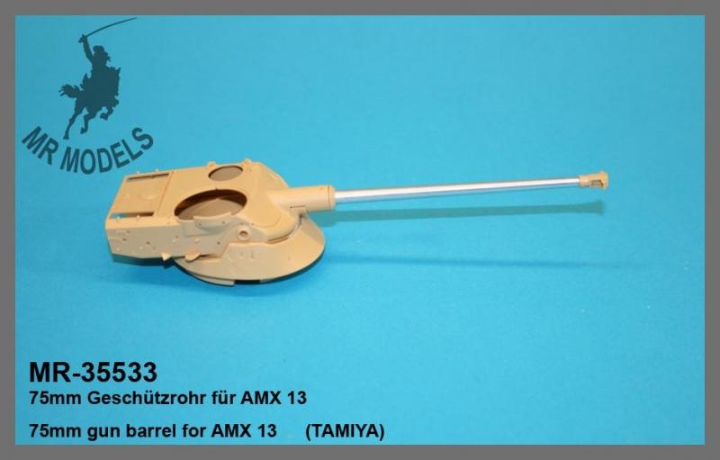 MR-35533  75mm Geschützrohr für AMX 13   (TAMIYA)