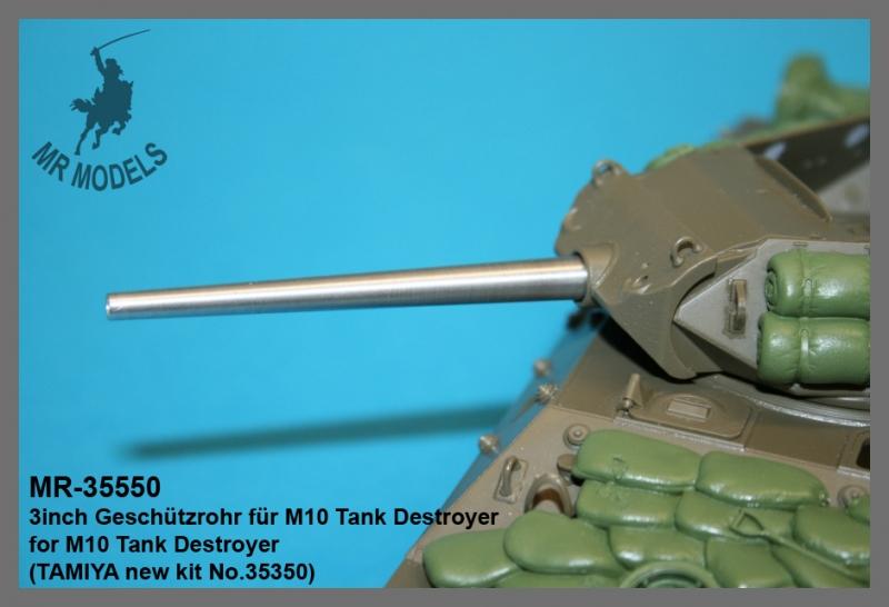 MR-35550 3inch Geschützrohr für M10 Tank Destroyer