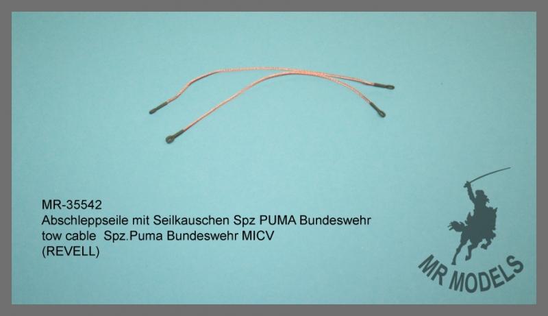 MR-35542 Abschleppseil mit Seilkauschen Spz PUMA Bundeswehr  (REVELL)