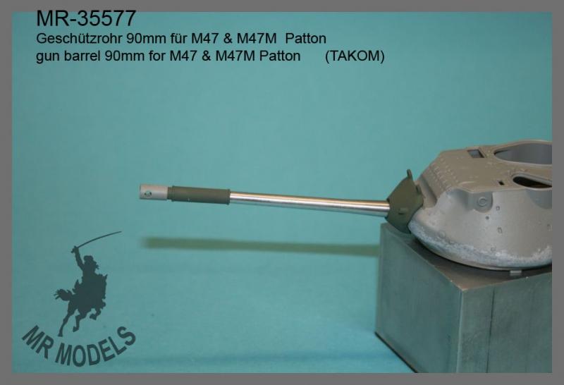 MR-35577  Geschützrohr 90mm für M47 & M47M  Patton