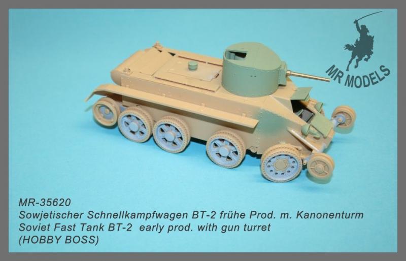 MR-35620  Sowjetischer Schnellkampfwagen BT-2 frühe Prod. m. Kanonenturm     (HOBBY BOSS)