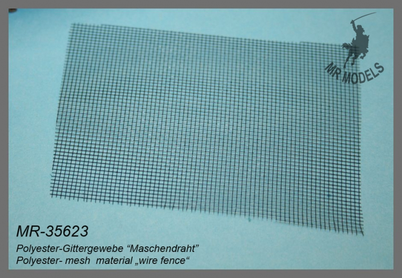 "MR-35623  Polyester-Gittergewebe ""Maschendraht"""
